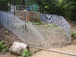 Site Development with safety Fencing