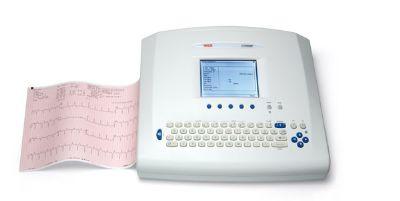 ECG machine used at Dublin health screen no1 Fitzwilliam St.