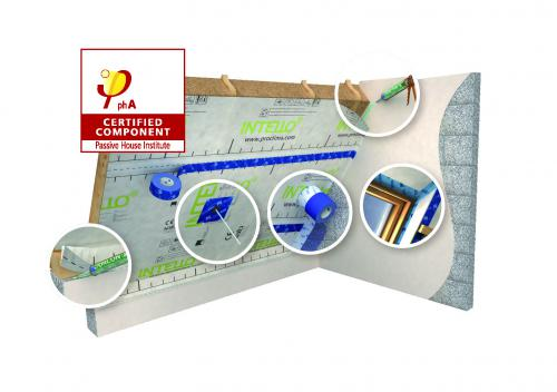 pro clima Passivhaus certified component