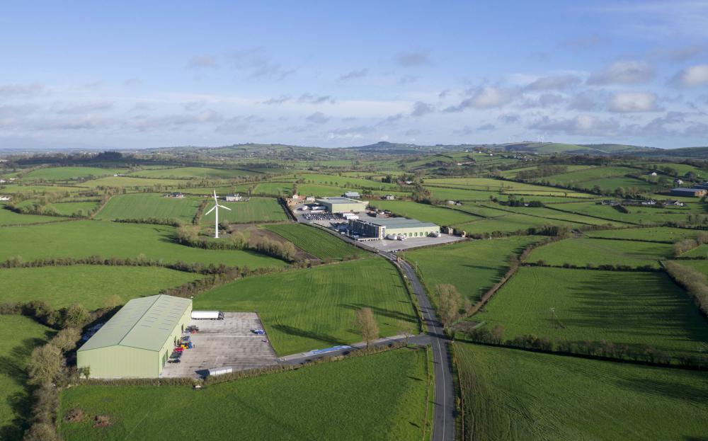 Meade Potato Company Aerial View