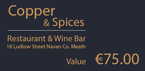 Copper & Spices - Gift Voucher