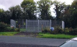 Finnished Site With Safety Fencing