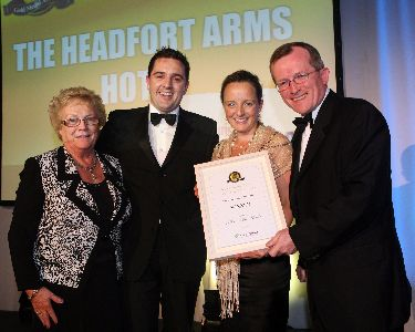 Headfort Arms Hotel and Catering Review Gold Medal Winner