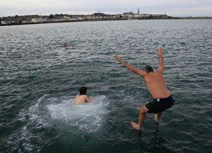 ILFA annual swim