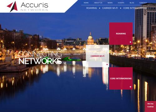 Accuris Networks Website Image