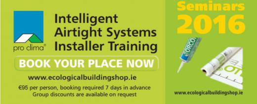 Ecological Building Systems Intelligent Airtight Systems Training