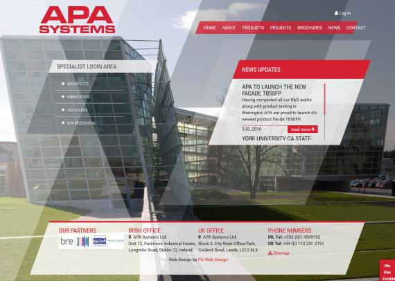 APA Systems Website Image