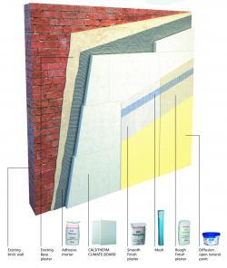 Thermally Upgrading Single Leaf Masonry Walls With