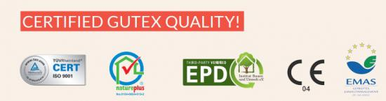 Certified GUTEX Quality