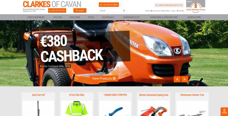 Clarkes of Cavan Website Image
