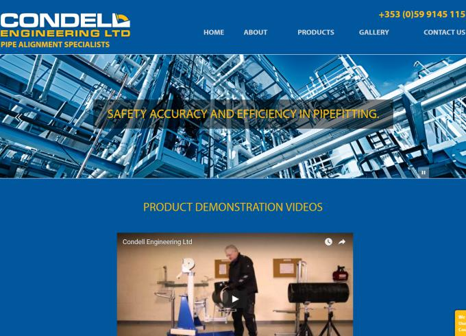 Condell Engineering Website Image