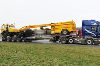 Matthews Transport - Extendable Trailer