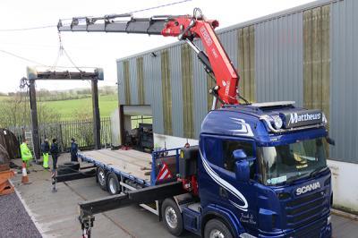 Matthews Transport - Truck and Crane