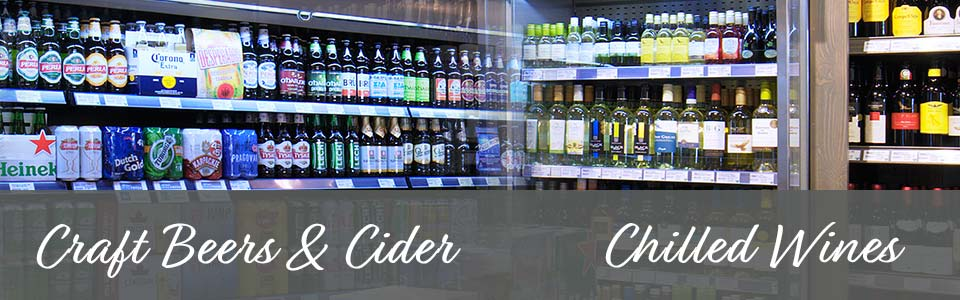 Craft Beers Chilled Wines