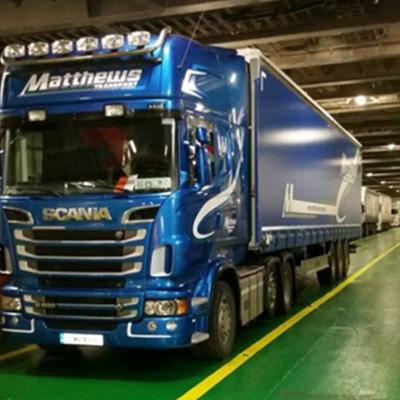 Matthews Transport - Curtain Sliders
