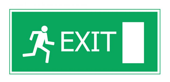 Exit Sign Image