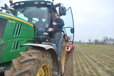 Carrot Harvesting 2015/16