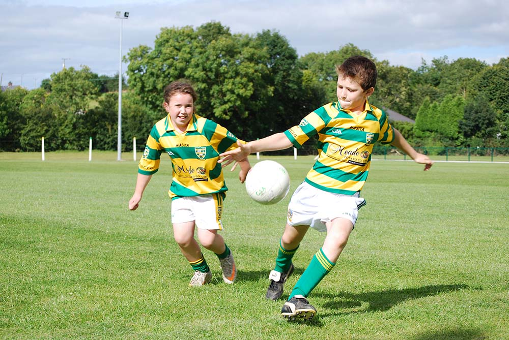 Sponsorship of sporting organisations such as Syddan GFC promotes healthy lifestyles