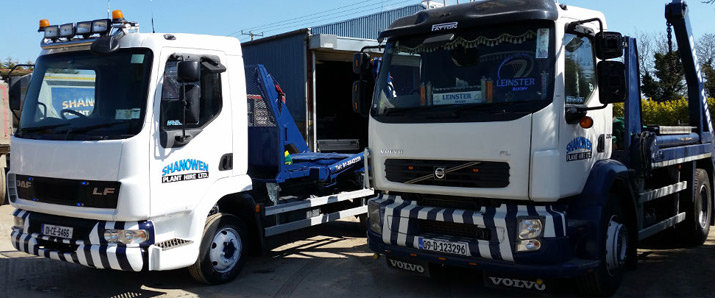 Shanowen Plant Hire - Tipper Trucks