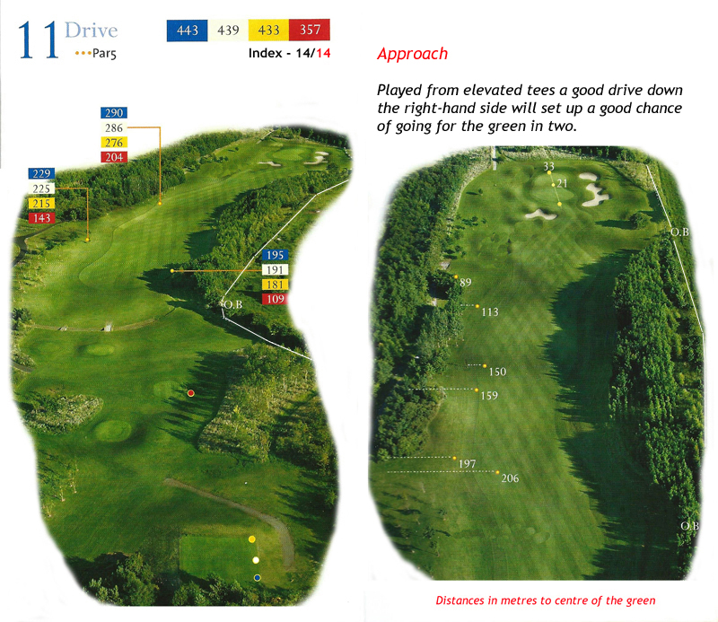 Ballyneety Golf Course Hole 11