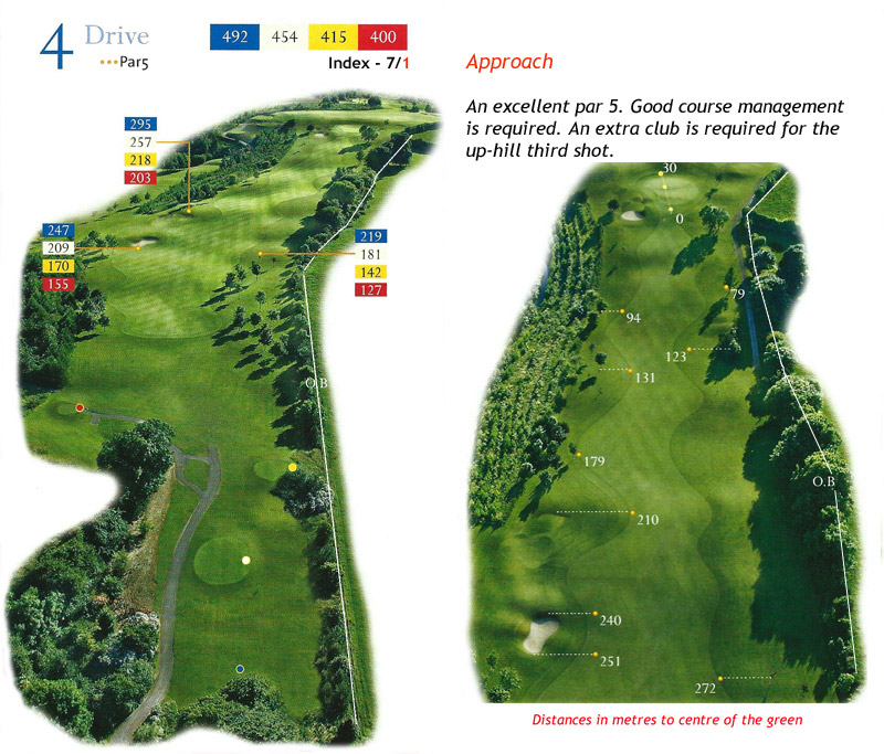 Ballyneety Golf Course Hole 4