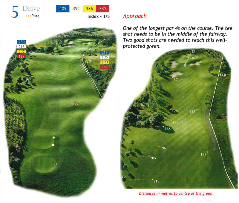 Ballyneety Golf Course Hole 5