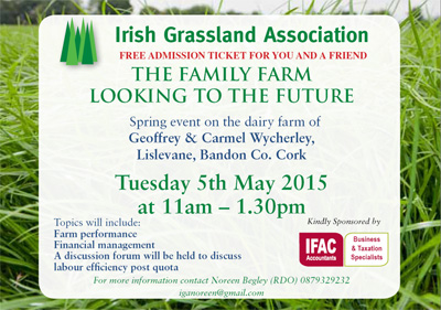 The Family Farm looking to the Future - Free Adminission ticket