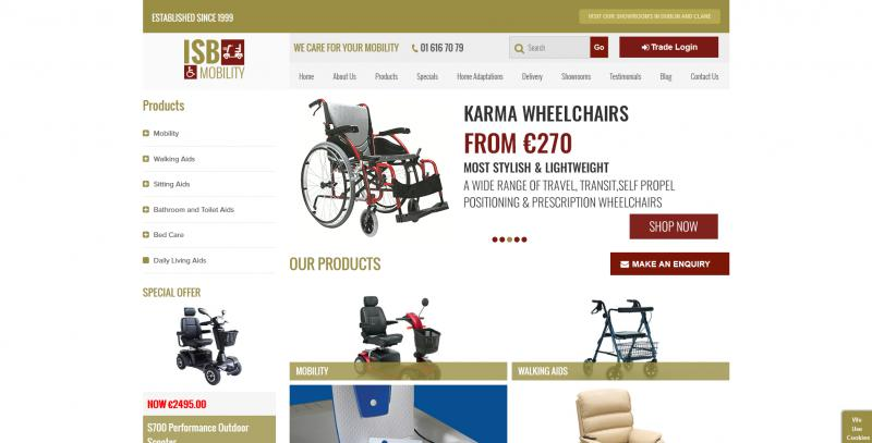 ISB Mobility Website Image