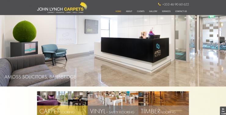 John Lynch Carpets Website Image