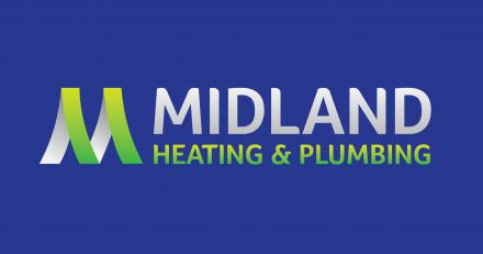 Midland Heating and Plumbing Logo