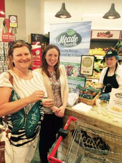 We received super feedback from our tasting session at the SuperValu Ardee Local Suppliers Day.