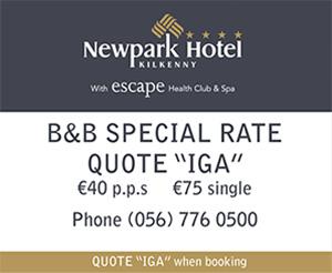 IGA - Newpark Hotel Kilkenny Escape