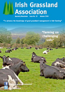 Irish Grassland Association - Autumn 2016 Newsletter