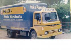 One of our original delivery lorries.
