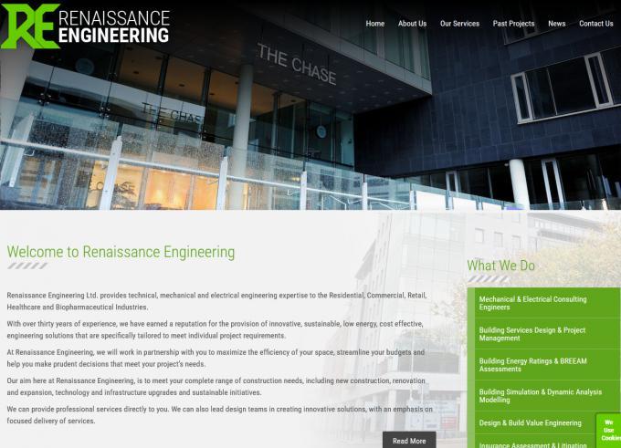 Renaissance Engineering Website Image