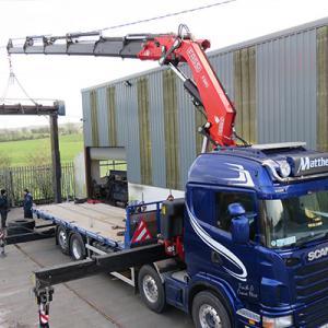 Matthews Transport - Truck and Crane Hire