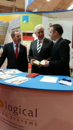 Niall Crosson meets Minister Alex White & CEO of SEAI Brian Motherway