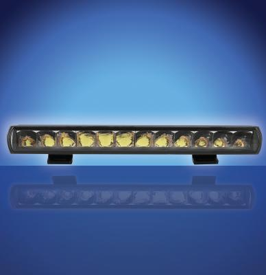 Ultra Slim Smoked Chrome Light Bar