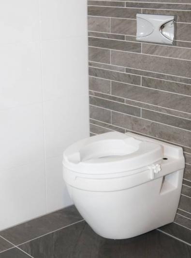 Raised Toilet Seat - 5cm - No Lid