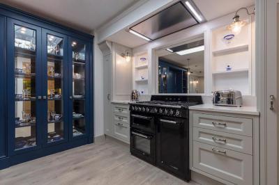 Picture frame moulding kitchen