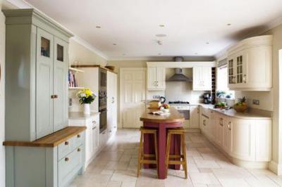 Mid height unit kitchen