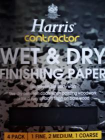 Wet & Dry Finishing Paper