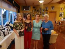 Open 3 Lady Team Monday 10th June Kindly Sponsored By J.G. Dillon & Co