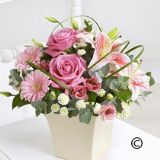 Exquisite Arrangement in Pink
