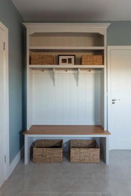 Inframe shaker blue kitchen