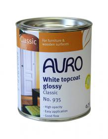 AURO 935 White Topcoat Gloss