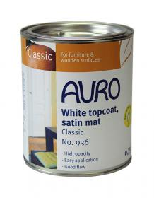 AURO 936 White topcoat Satin Mat