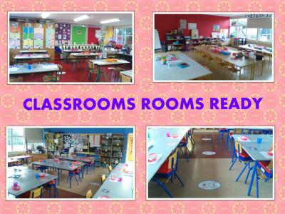 CLASS ROOMS READY