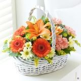 Beautiful Basket Orange