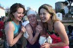 Chloe, Rosanna & Ciara after their swim